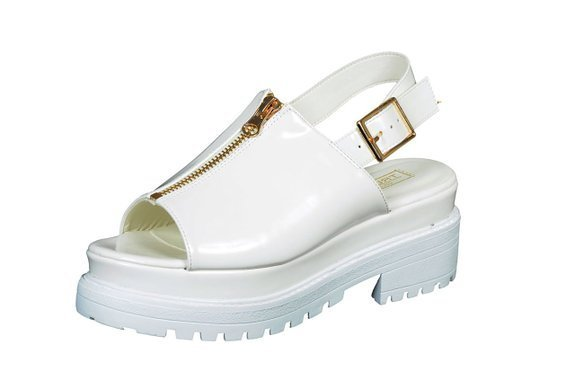 Truffle Collection OCEAN10 White Shoes SIZE 4 RRP £18.99 CLEARANCE XL £4