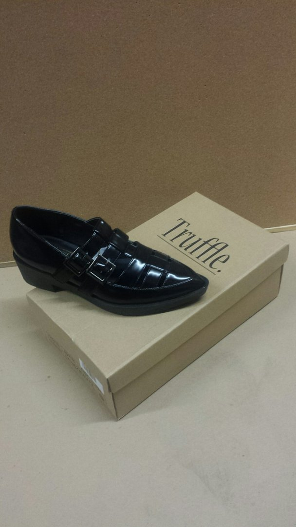 Truffle Collection Womans Shoe Black SIZE 4 RRP £24.99 CLEARANCE XL £3