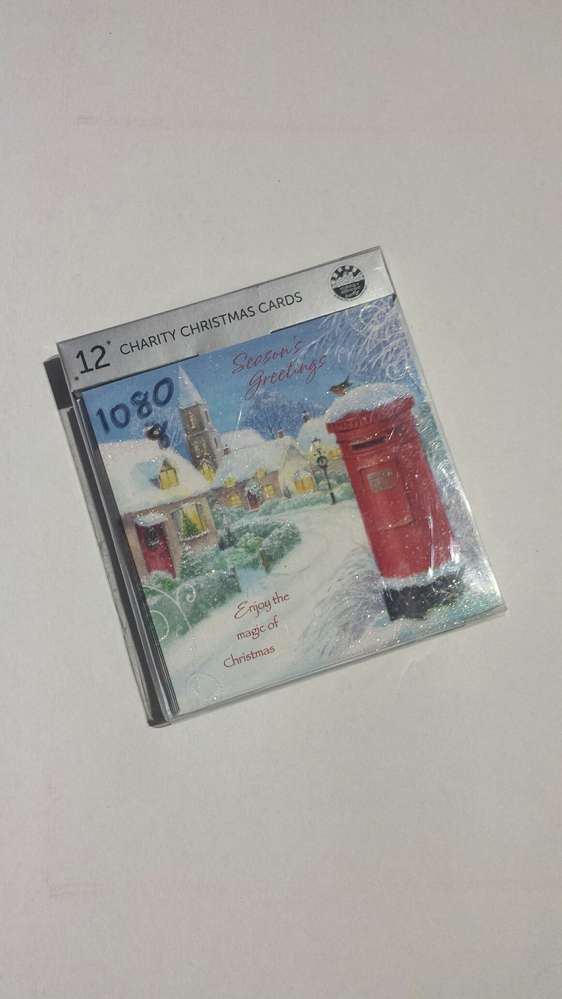 12 Charity Christmas Cards RRP £1.99 CLEARANCE XL £0.59 each or 2 ...