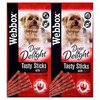 Webbox Dogs Delight Tasty Sticks With Beef RRP £1.99 CLEARANCE XL £0.59 Each Or 2 For £1.00