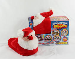 Santa Magic Movers Animated Slippers 300g RRP £4.99 CLEARANCE XL £2.50