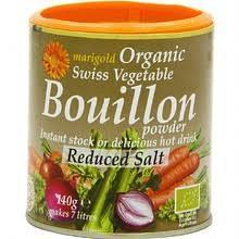 NEW PRICE Marigold Swiss Vegetable Organic Bouillon Powder 150g GREY RRP £2.29 CLEARANCE XL 1p