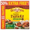 Old El Paso Sizzling Fajita Kit Smoky BBQ 750g RRP £3.79 CLEARANCE XL £0.99