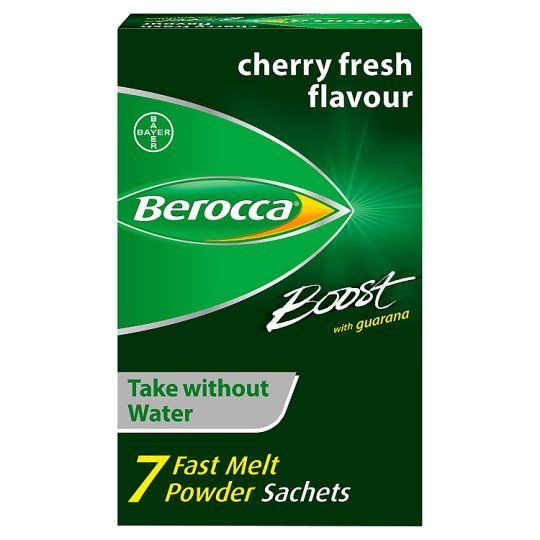 Berocca Boost With Guarana 7 Sachet Vitamin Energy Supplement Rrp 549 Clearance 39p Or 3 For 99p