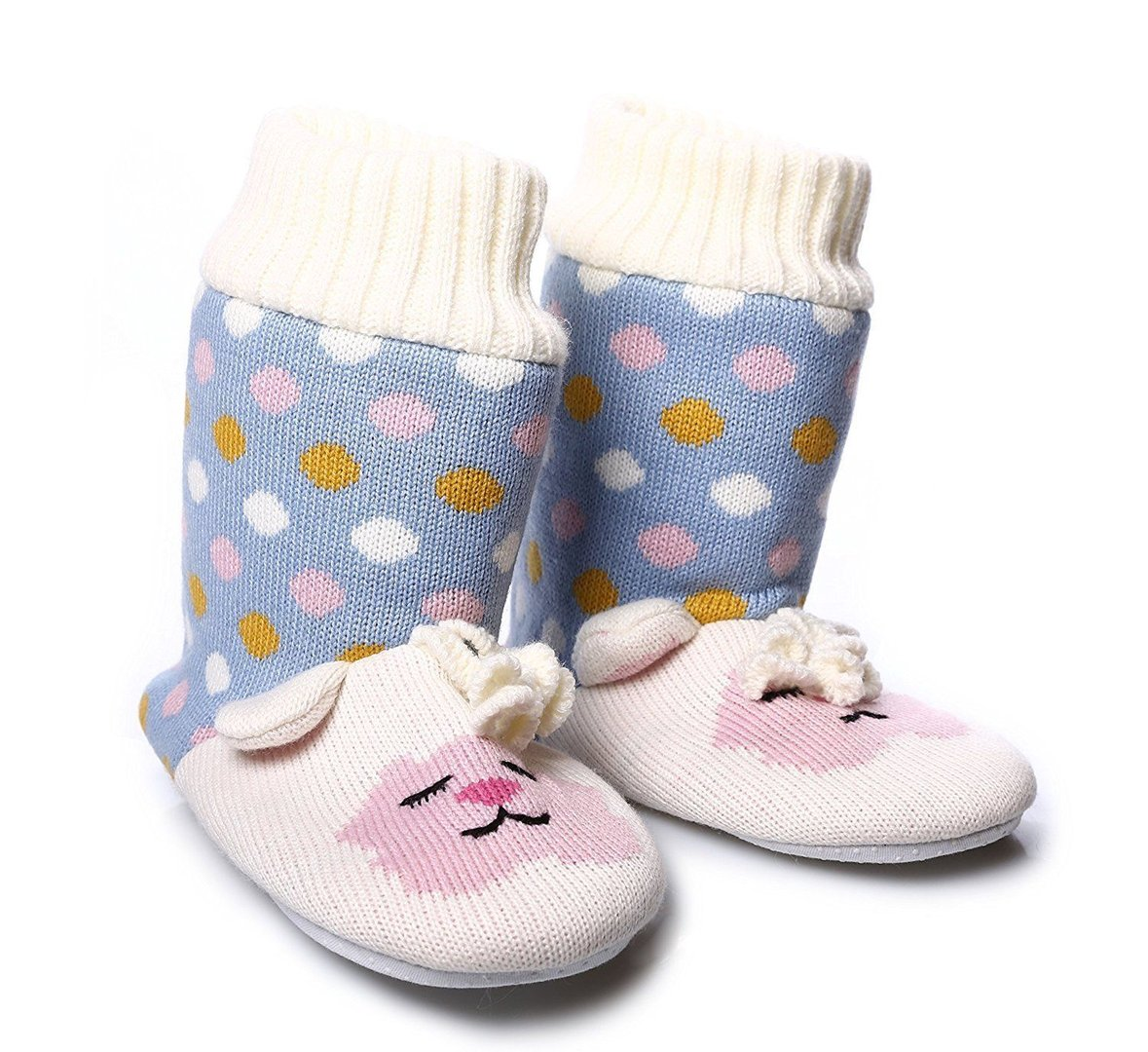 Aroma Home Fun for Feet LAMB SLIPPERS RRP £19.99 CLEARANCE XL £2.99