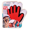 Starlyf Red/Black Pet Brush Hand Glove RRP £19.99 CLEARANCE XL £3.99