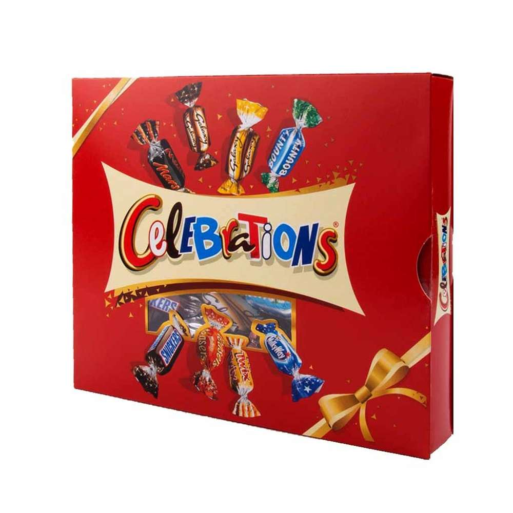 Celebrations Chocolate Gift Pack 320g Rrp 350 Clearance Xl 199