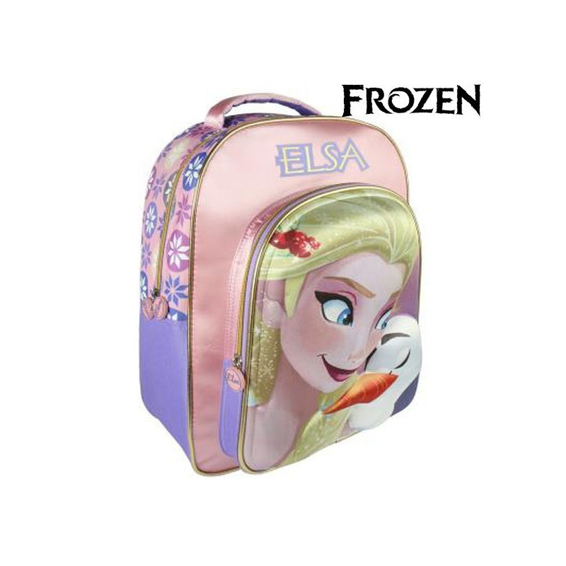 Disney 3D Frozen Elsa Children's Backpack Rucksack 41 cm RRP £14.99 CLEARANCE XL £5.99