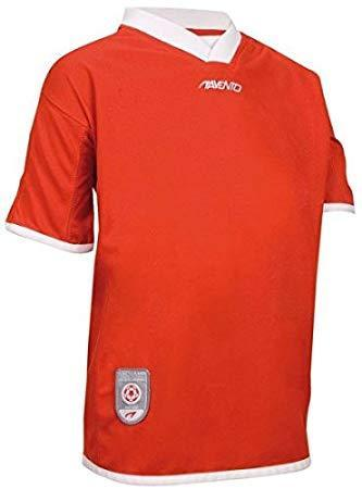Avento Red Short Sleeve Football Shirt Size L/XL RRP £16.99 CLEARANCE XL £1