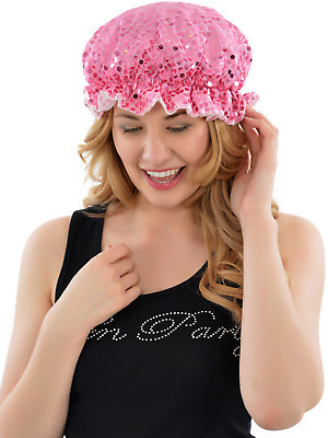 The Diabolical Gift People Bling Waterproof Shower Cap RRP £4.50 CLEARANCE XL 59p each or 2 for £1