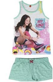 Disney Soy Luna Summer Pyjamas for Girls (6 Years/116cm) RRP £7 CLEARANCE XL £2.99