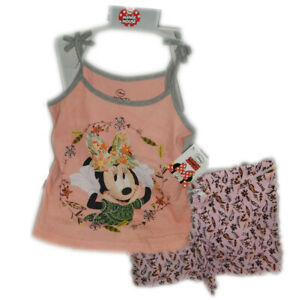 Disney Minnie Mouse Summer Pyjamas for Girls (3 Years/98cm) RRP £10 CLEARANCE XL £2.99