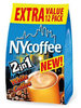 NY Coffee 2in1 White Coffee 12 Sachet Pack RRP £3 CLEARANCE XL 99p
