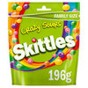 Skittles Crazy Sours Pouch 196g RRP £2 CLEARANCE XL £1