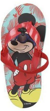 Disney Childrens Size 8.5/9 Mickey Mouse Flip Flops RRP £5 CLEARANCE XL £2.99