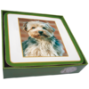 Faithful Friend Pack of 6 Dog Coasters (CC096) RRP £9.95 CLEARANCE XL £2
