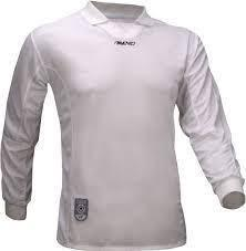 Avento Junior White Long Sleeve Football Shirt Size 16 Yrs Small Adult RRP £15.99 CLEARANCE XL £1