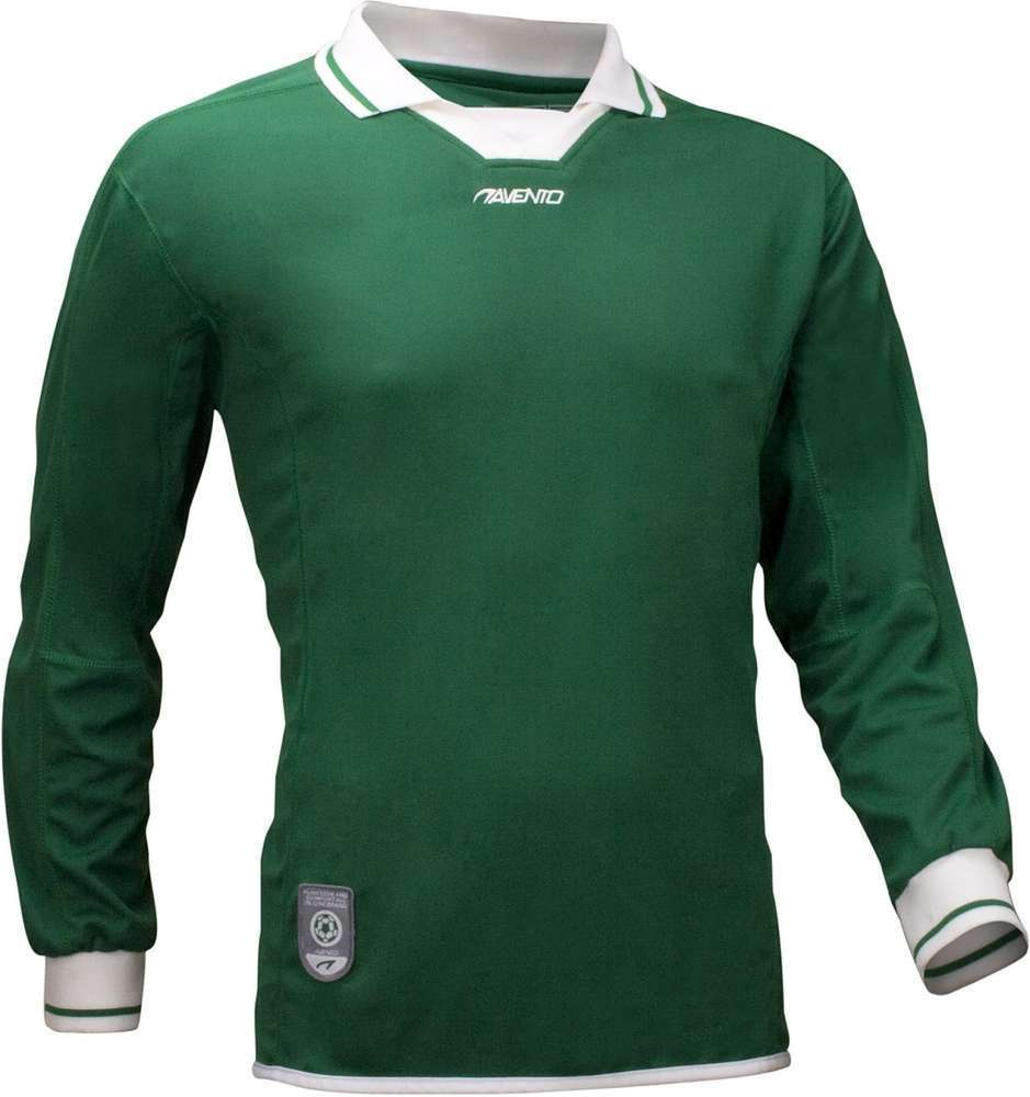 Avento Junior Green Long Sleeve Football Shirt Size 5-6Yrs RRP £15.99 CLEARANCE XL £1