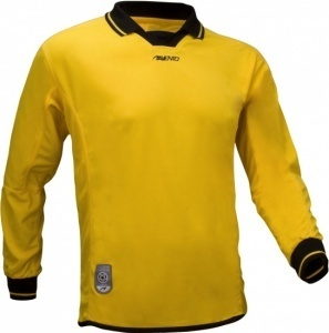 Avento Junior Yellow Long Sleeve Football Shirt Size 16Yrs Small Adult RRP £15.99 CLEARANCE XL £1
