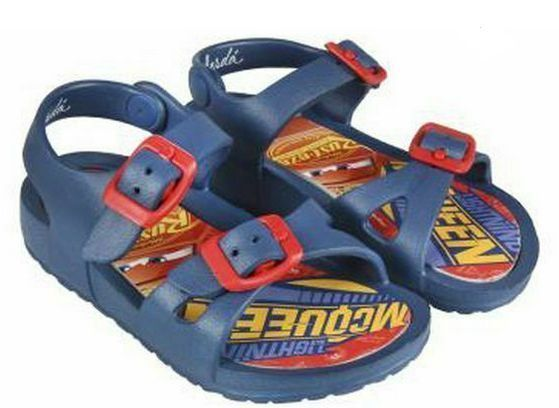 Disney Cars Childrens Beach Sandals UK Size 8.5/9 RRP £9.99 CLEARANCE XL £2.99