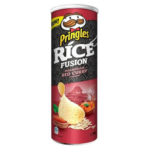 Pringles Rice Malaysian Red Curry 160g RRP £2.50 CLEARANCE XL 59p or 2 for £1