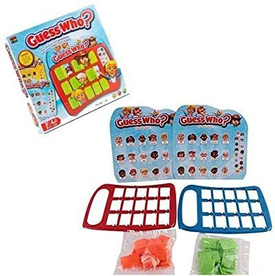 Kingso Toys Guess Who Game RRP £10.99 CLEARANCE XL £1.99