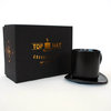 Gift Republic Top Hat Novelty Cup & Saucer In Padded Gift Box RRP £17.99 CLEARANCE XL £3.99