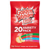 Golden Wonder Fully Flavoured 20x Variety Pack 25g RRP £3.99 CLEARANCE XL £1.99