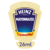 CASE PRICE 70x Heinz Mayonnaise Squeeze Me 25g RRP £18.99 CLEARANCE XL £1