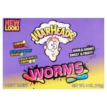 USA Warheads Worms Chewy Candy 113g RRP £2 CLEARANCE XL £1.75