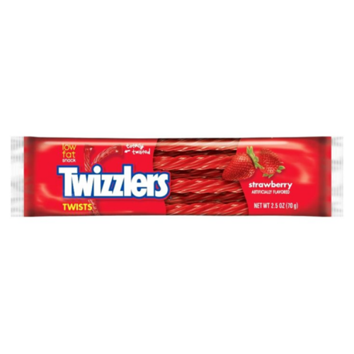 USA Strawberry Twizzlers Twists 70g RRP £1.49 CLEARANCE XL £1.25